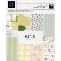 """Storyline Chapters Planner Project Pad 7.5""""X9.5"""" 122pcs - 1"""