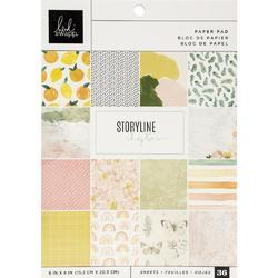 """Storyline Chapters Single-Sided Paper Pad 6""""X8"""" 36/Pkg - 1"""