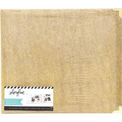 """Storyline Gold Glitter 3 D-Ring Album kit 12""""X12"""" - 1"""