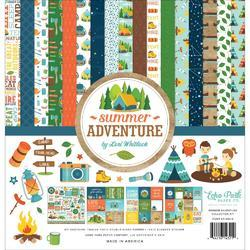 "Summer Adventure Collection Kit 12""X12"""