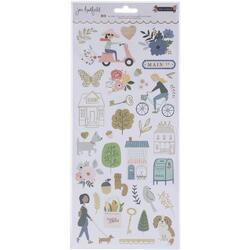 "The Avenue Cardstock Stickers 6""X12"" 80/Pkg - 1"