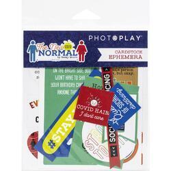 The New Normal Ephemera Cardstock Die-Cuts - 1