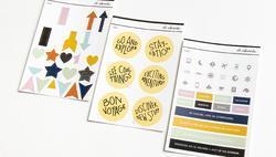 Ali Edwards Travel Collection 2019 Sticker Bundle - 1