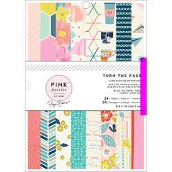 "Turn The Page Single-Sided Paper Pad 6""X8"" 24/Pkg"