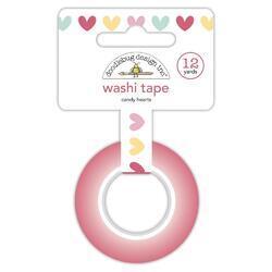 Washi Candy Hearts Tape 15mm x 12yd