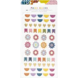 Wonders Puffy Stickers 60/Pkg - 1