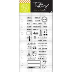 Adventure Planner Clear Stamps - 1