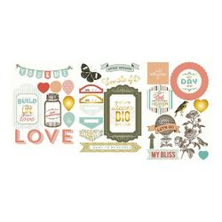 Adventure Project Life Chipboard Stickers
