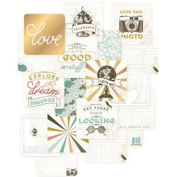 "Adventure Project Life Die-Cut Card Pack 4""x4"" 12 pkg"