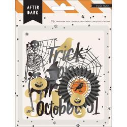 After Dark Ephemera Die-Cuts w/Black & Gold Foil - 1