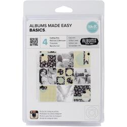 Albums Made Easy Basics Dies 4pkg - 1