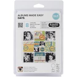 Albums Made Easy Days Dies 9pkg - 1