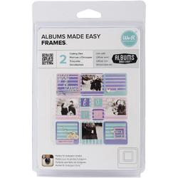 Albums Made Easy Frames Dies 2pkg - 1