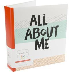 "All About Me D-Ring Planner Album 6""x8"" - 1"