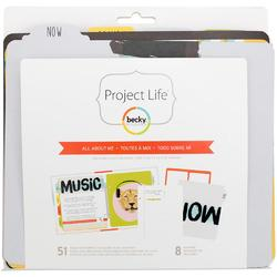 All About Me Project Life® Insert Pages & Dividers 6x8 - 1