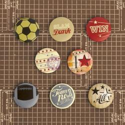 Allstar Flair Buttons - 1