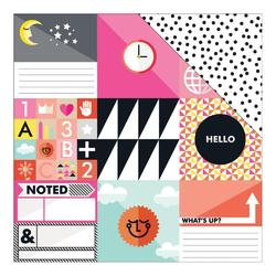 "Amelia 001 Double-Sided Cardstock 12""x12"""