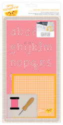 Cut & Paste - Embroidery Stencil Kit - Icon Right Now - Amy Tan
