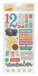 Cut & Paste - Printed Chipboard Cut Out - Multi - Amy Tan