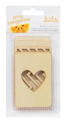 Cut & Paste - Wood Veneer Cards - Stacked - Amy Tan - 1