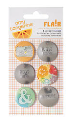 Yes Please - Embrace - Badges - Amy Tan
