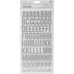 Atlas Thickers Alpha Stickers – silver - 1