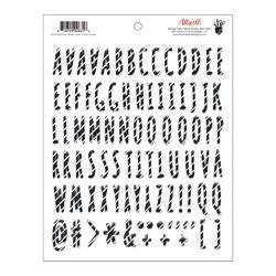 Attwell Puffy Alpha Stickers - Stripe
