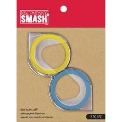 SMASH Label Maker Refills - Blue & Yellow