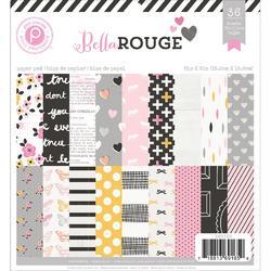 "Bella Rouge Paper Pad 6""x6"" 36 pkg - 1"