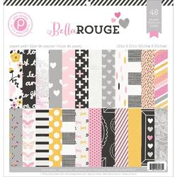 "Bella Rouge Paper Pad 12""x12"" - 1"