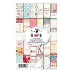 "BeLoved Brag Paper Pad 4""x6"" 24/Sheets"