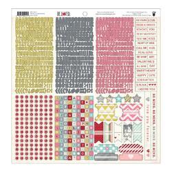 BeLoved Cardstock Stickers 12x12