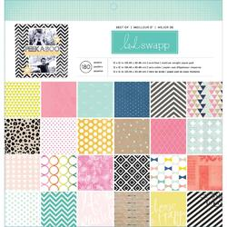 """Best Of Heidi Swapp Paper Pad 12""""x12"""" (60 ks)"""