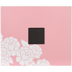 "Blush Flower Patterned D-Ring Album 12""x12"""