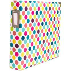 "Bold Dots Project Life D-Ring Album 12""x12"""