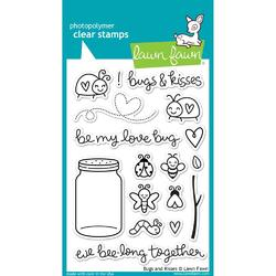 Bugs & Kisses Clear Stamps - 1