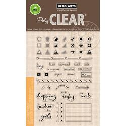 Bullet Journaling Clear Stamps