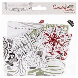 Candy Cane Lane Ephemera Cardstock Die-Cuts - 1