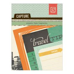 Capture Carte Postale Mini Snippets Paper Pad
