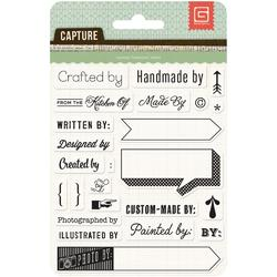 Capture Give Credit Acrylic Stamps