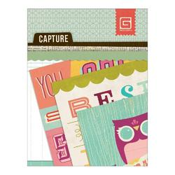 Capture RSVP Mini Snippets Paper Pad