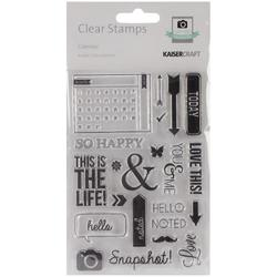 Captured Moments Calendar Clear Stamps - 1
