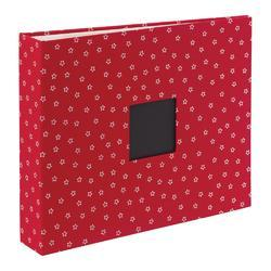"Cardinal Cloth D-Ring Album 12""x12"""