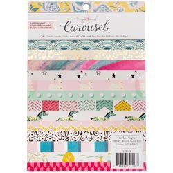 "Carousel Single-Sided Paper Pad 6""X8"