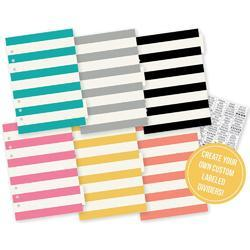 Carpe Diem A5 Basic Tabbed Dividers & Stickers
