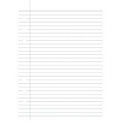 Carpe Diem A5 Lined Page Tablet