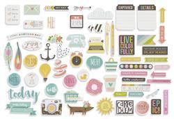 Carpe Diem Bits & Pieces Cardstock Die-Cuts