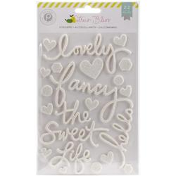 Citrus Bliss Foam Stickers - 1