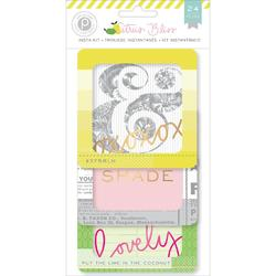 Citrus Bliss Instagram Cards 4x4 24 pkg - 1