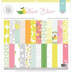 Citrus Bliss Paper Pad 12x12 - 1